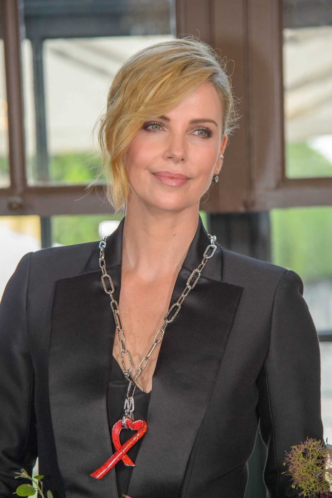 Charlize Theron at 2018 Crystal of Hope Outreach Project in Vienna 05/31/2018-5