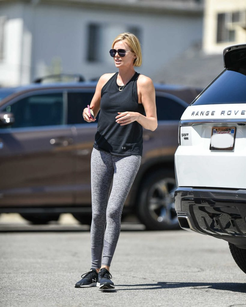 Charlize Theron Leaves a Dance Class in Los Angeles 06/18/2018-1