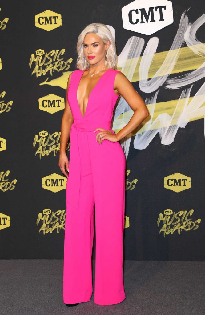 CJ Perry at 2018 CMT Music Awards at Bridgestone Arena in Nashville 06/06/2018-1