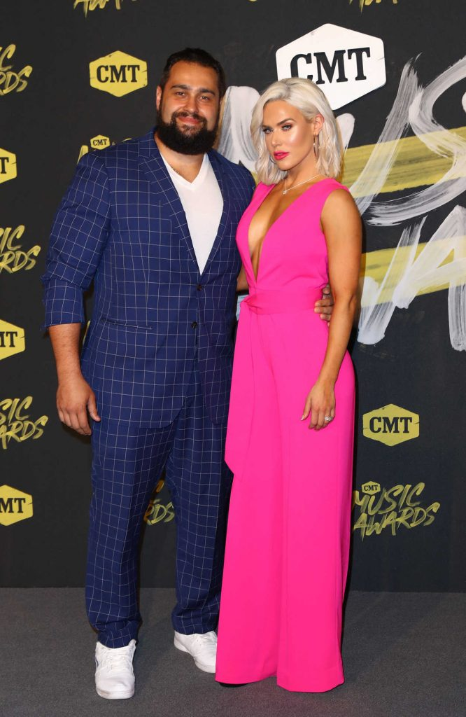 CJ Perry at 2018 CMT Music Awards at Bridgestone Arena in Nashville 06/06/2018-2
