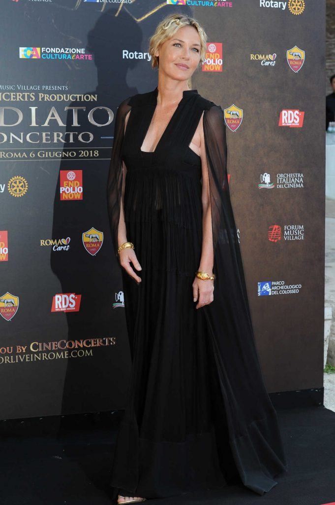 Connie Nielsen at Il Gladiatore in Concerto Red Carpet in Rome 06/06/2018-1