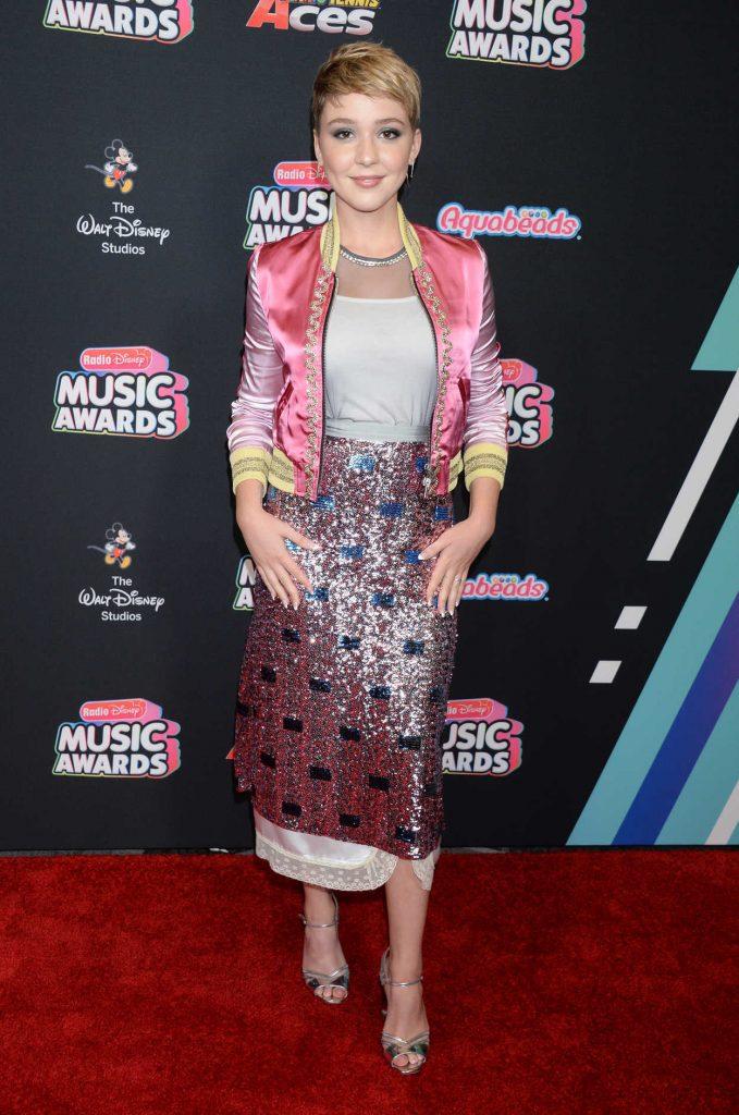 Cozi Zuehlsdorff at 2018 Radio Disney Music Awards in Los Angeles 06/22/2018-1