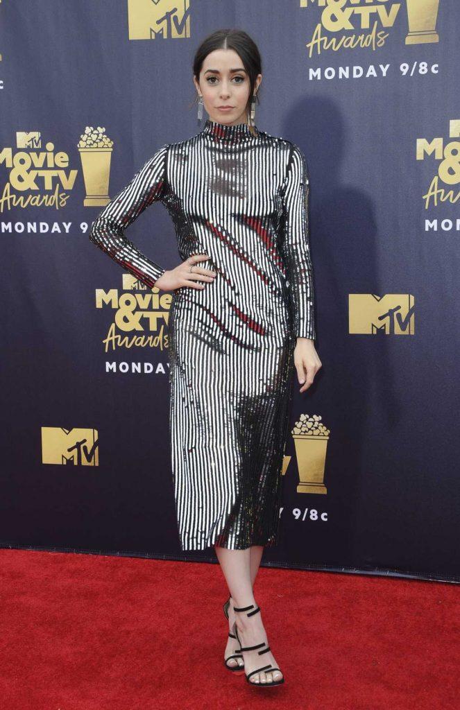 Cristin Milioti Attends the 2018 MTV Movie and TV Awards in Santa Monica 06/16/2018-1