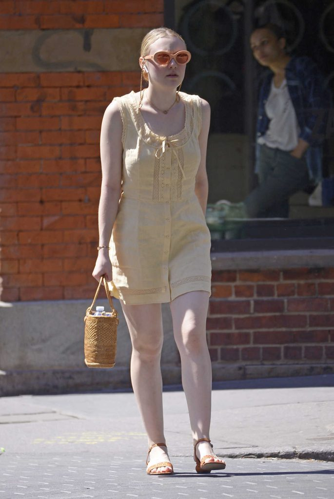 Dakota Fanning Was Seen Out in New York City 06/26/2018-1