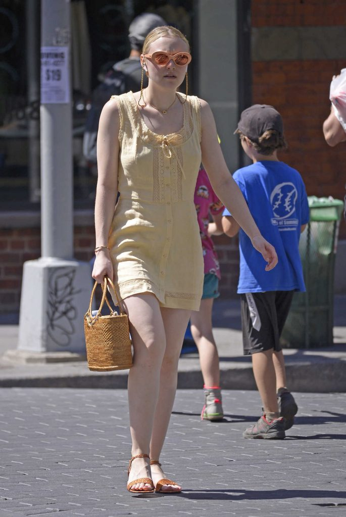 Dakota Fanning Was Seen Out in New York City 06/26/2018-3