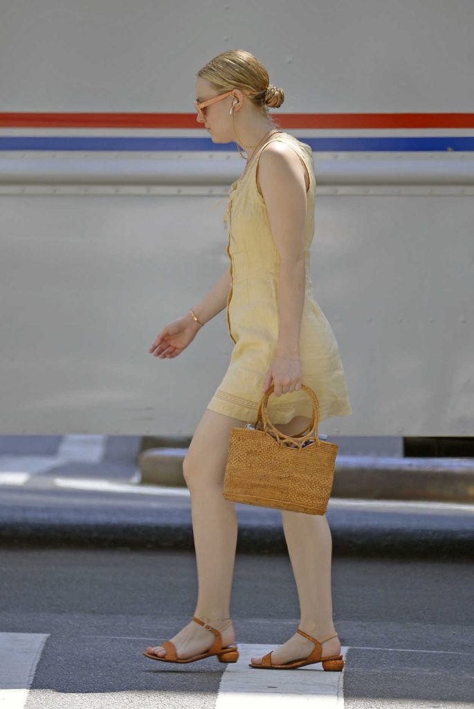 Dakota Fanning Was Seen Out in New York City 06/26/2018-5