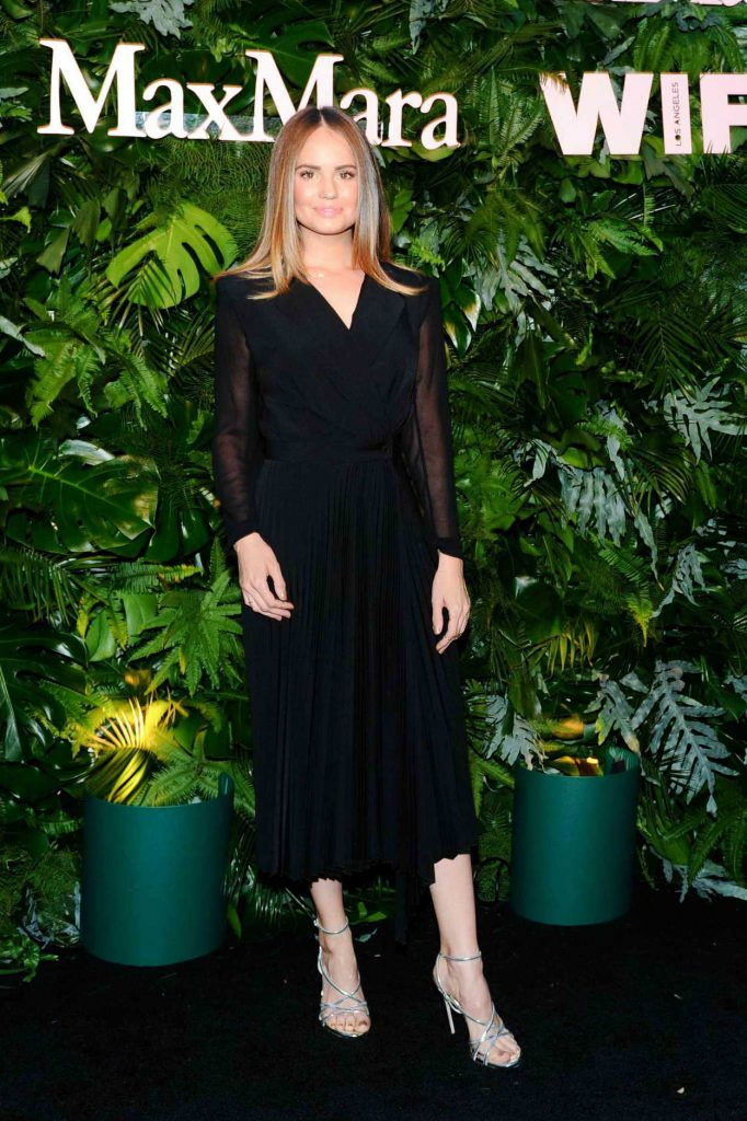 Debby Ryan at 2018 MaxMara WIF Face of the Future in Los Angeles 06/12/2018-2