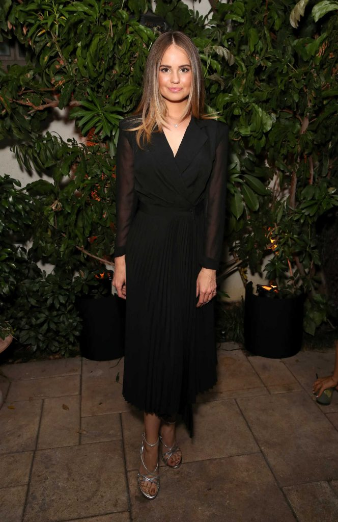 Debby Ryan at 2018 MaxMara WIF Face of the Future in Los Angeles 06/12/2018-3