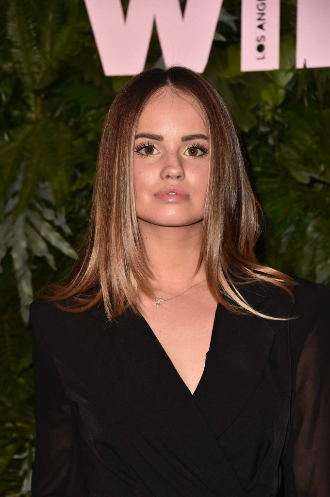 Debby Ryan at 2018 MaxMara WIF Face of the Future in Los Angeles 06/12/2018-5