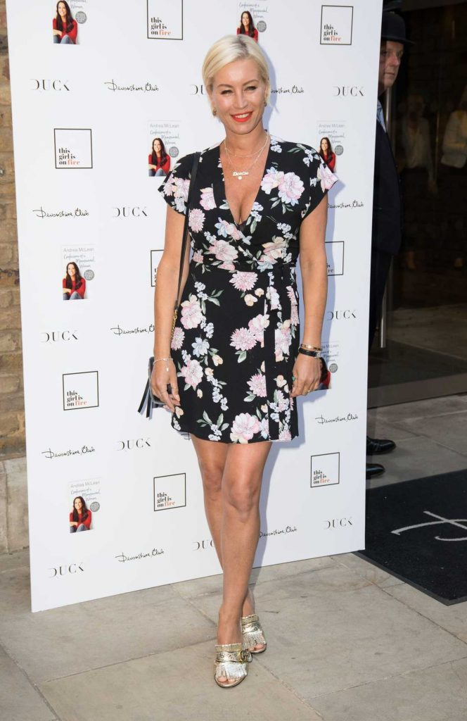 Denise van Outen at Andrea McLean: Confessions of a Menopausal Woman Book Launch Party in London 06/26/2018-1