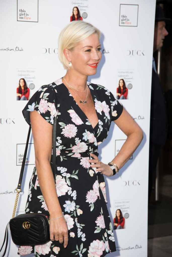 Denise van Outen at Andrea McLean: Confessions of a Menopausal Woman Book Launch Party in London 06/26/2018-2