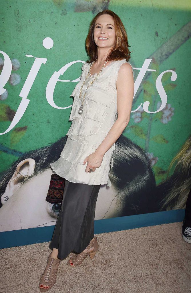 Diane Lane at the Sharp Objects HBO Series Premiere in Los Angeles 06/26/2018-3