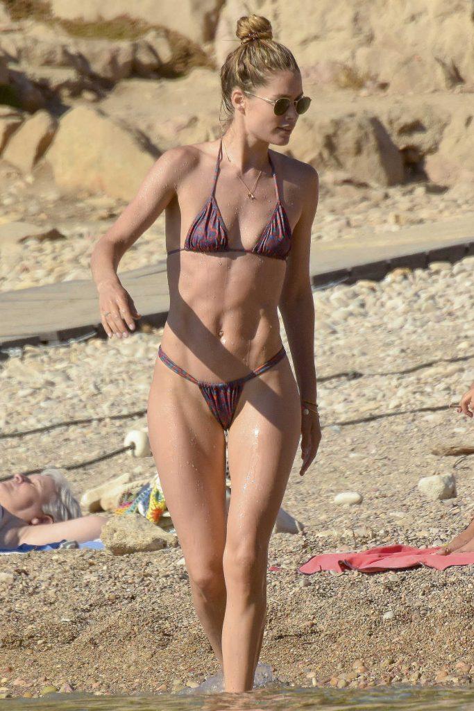 Doutzen Kroes in Bikini on the Beach in Ibiza 06/21/2018-1