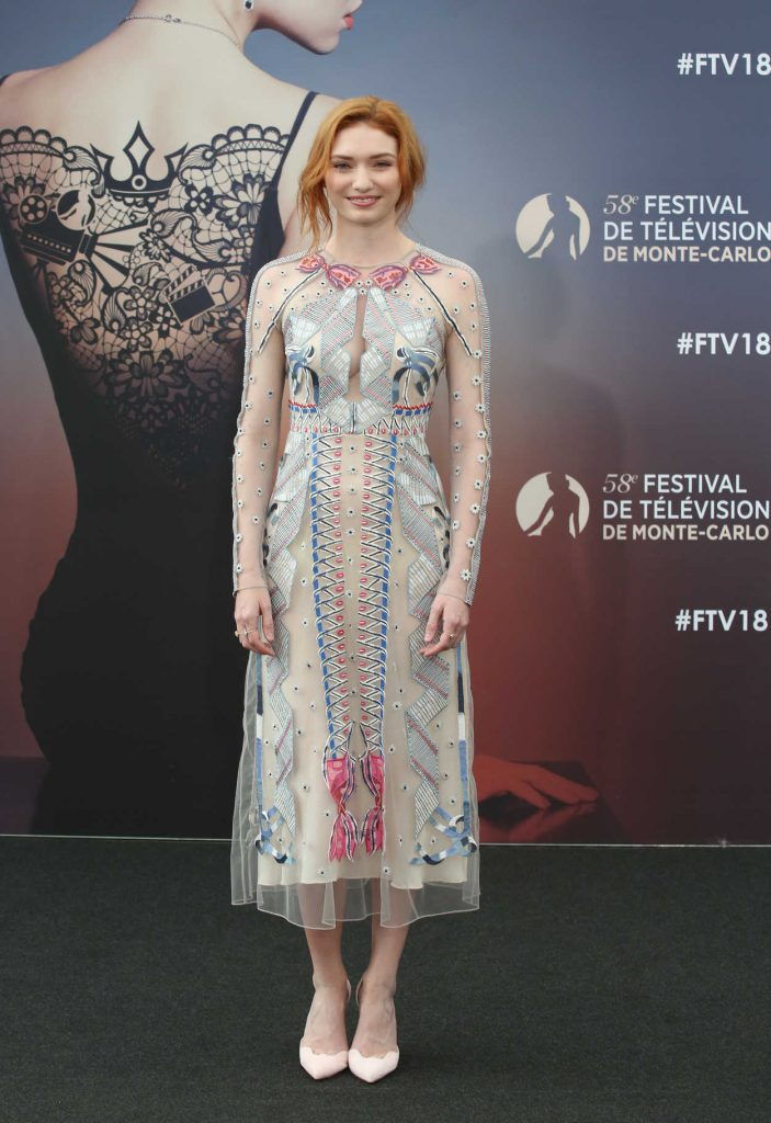 Eleanor Tomlinson at the Poldark Series Screening During the 58th Monte-Carlo Television Festival in Monaco 06/18/2018-2