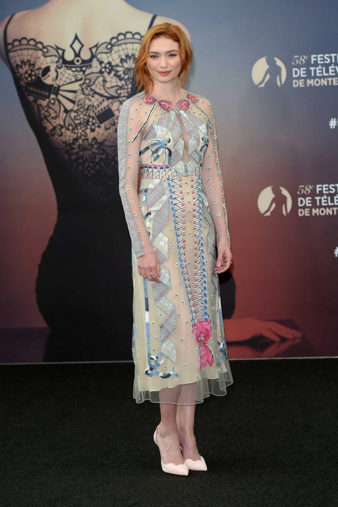 Eleanor Tomlinson at the Poldark Series Screening During the 58th Monte-Carlo Television Festival in Monaco 06/18/2018-3