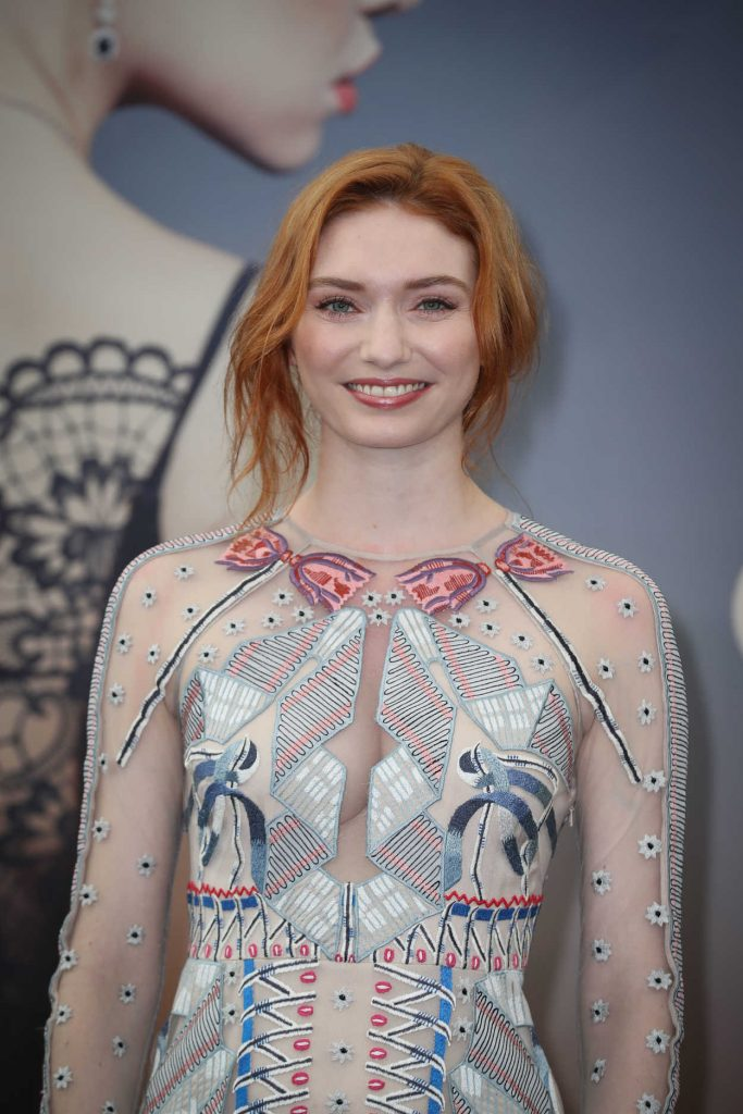 Eleanor Tomlinson at the Poldark Series Screening During the 58th Monte-Carlo Television Festival in Monaco 06/18/2018-4