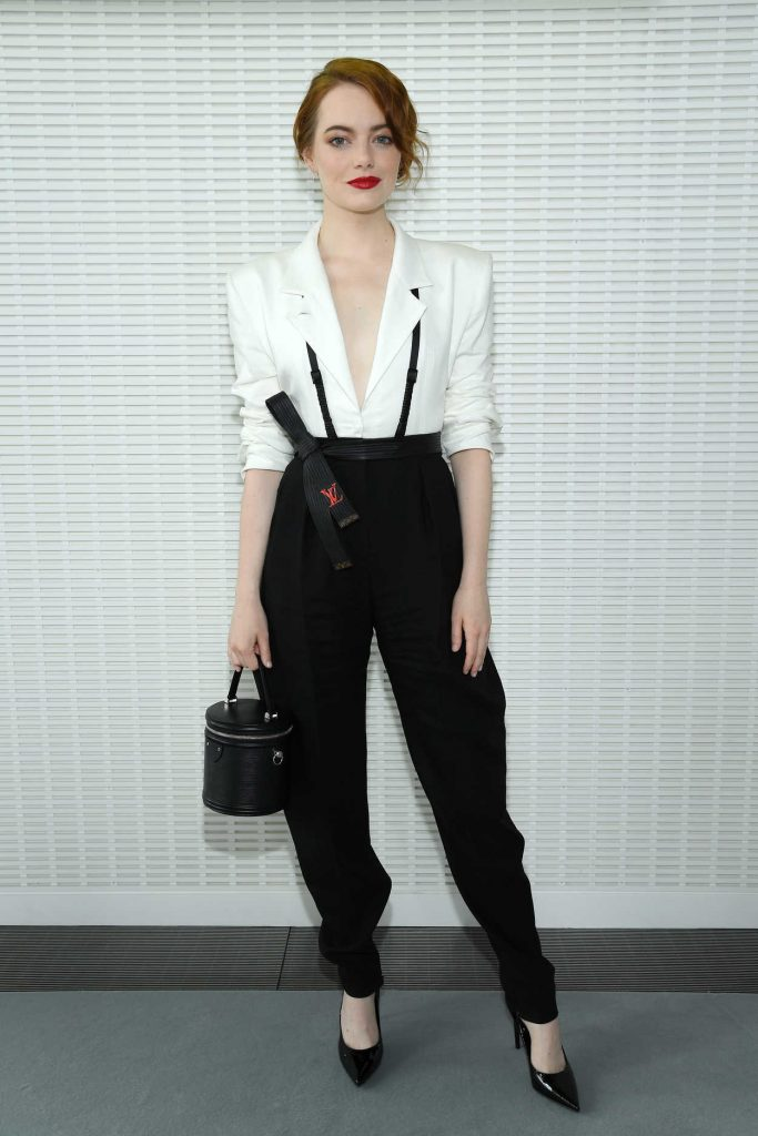 Emma Stone at LVMH Prize 2018 Edition at Fondation Louis Vuitton in Paris 06/06/2018-1