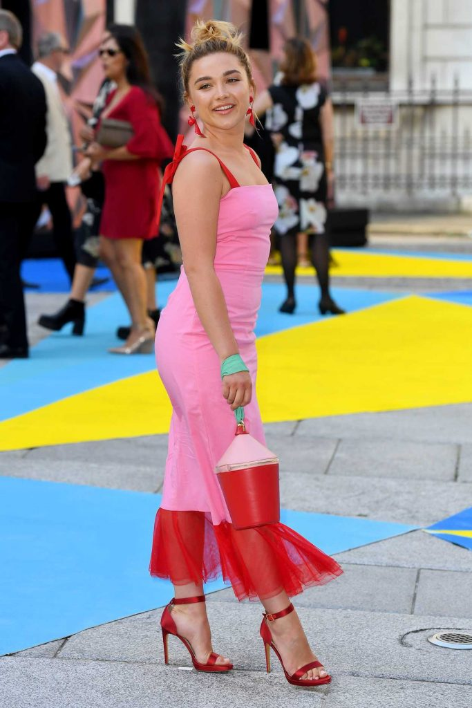 Florence Pugh at Royal Academy of Arts Summer Exhibition Preview Party in London 06/06/2018-3