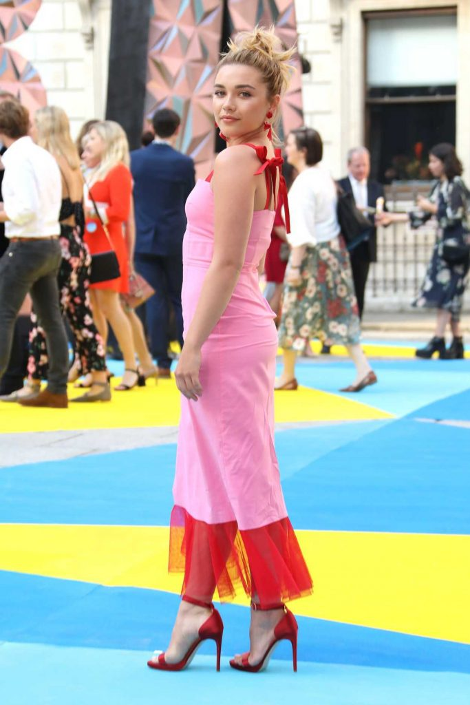 Florence Pugh at Royal Academy of Arts Summer Exhibition Preview Party in London 06/06/2018-4