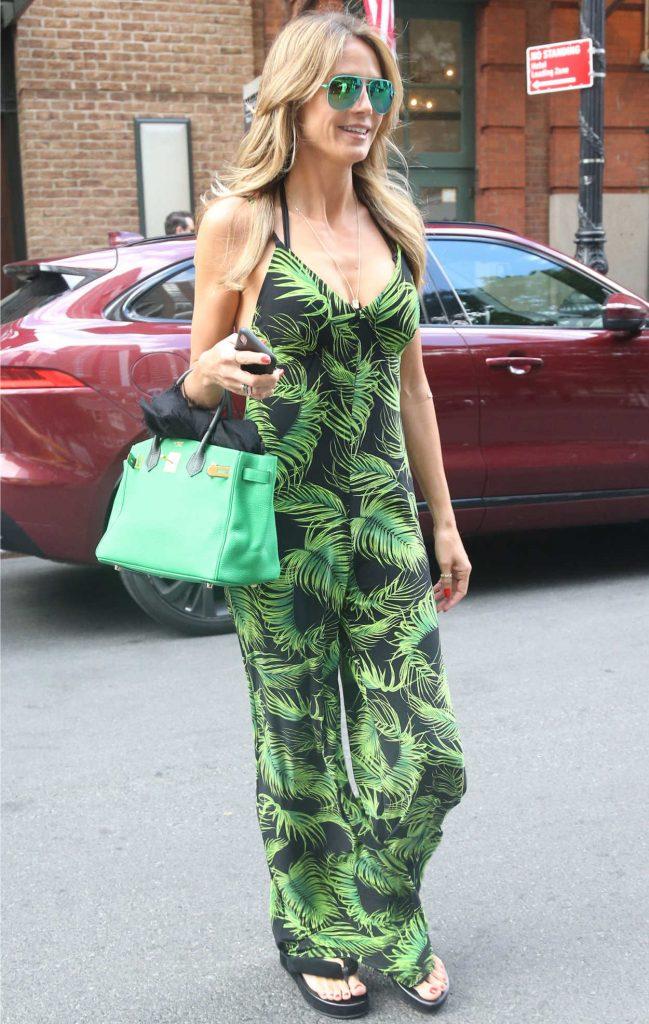 Heidi Klum Leaves an Office Building in New York City 06/25/2018-2