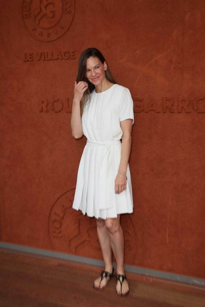 Hilary Swank at 2018 French Open at Roland Garros in Paris 06/09/2018-1