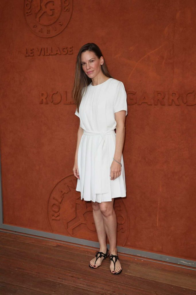 Hilary Swank at 2018 French Open at Roland Garros in Paris 06/09/2018-2