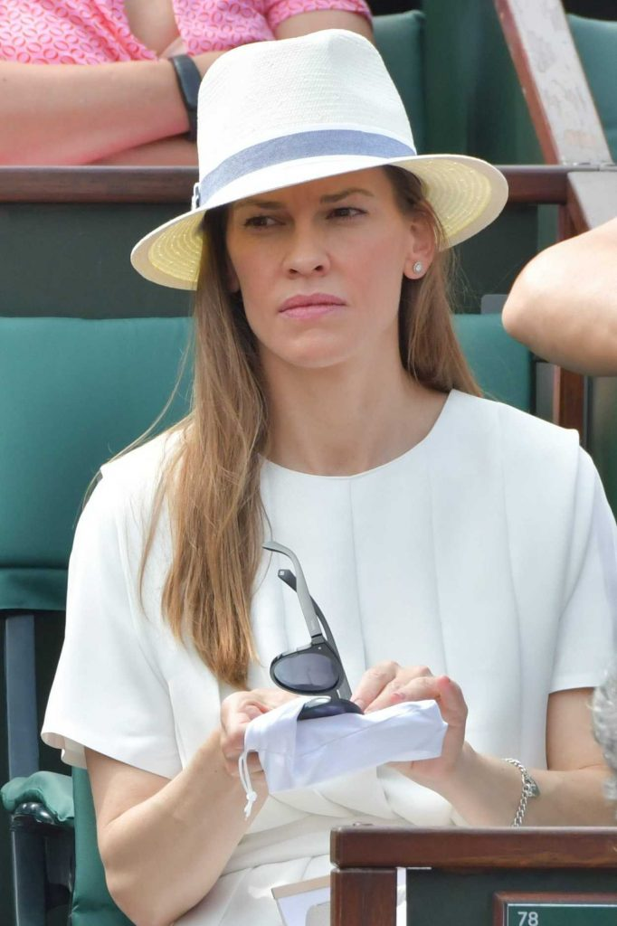 Hilary Swank at 2018 French Open at Roland Garros in Paris 06/09/2018-5