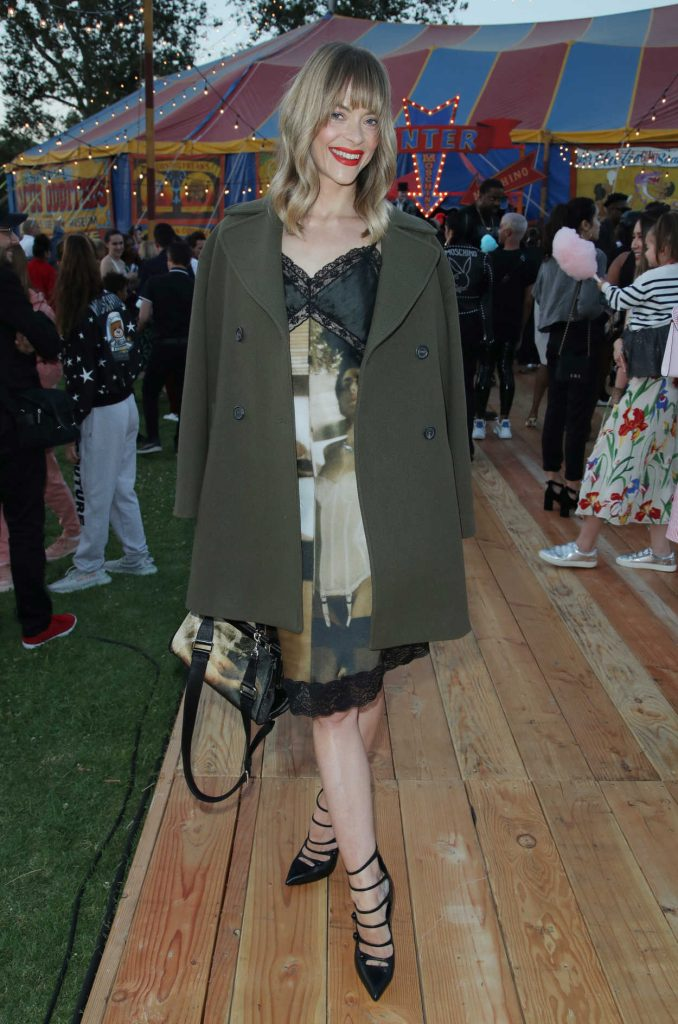 Jaime King at the Moschino Resort Collection Show at Los Angeles Equestrian Center in Burbank 06/08/2018-1