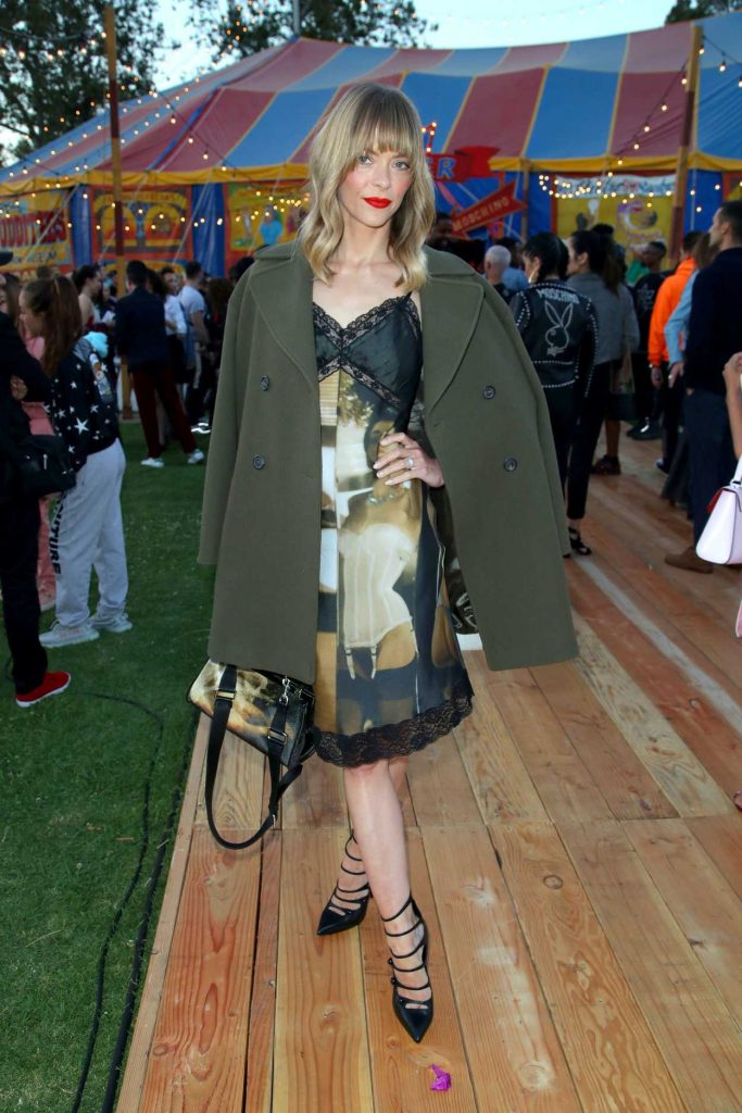 Jaime King at the Moschino Resort Collection Show at Los Angeles Equestrian Center in Burbank 06/08/2018-2