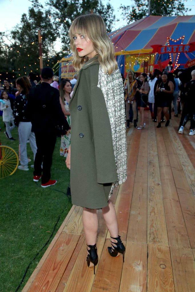 Jaime King at the Moschino Resort Collection Show at Los Angeles Equestrian Center in Burbank 06/08/2018-3