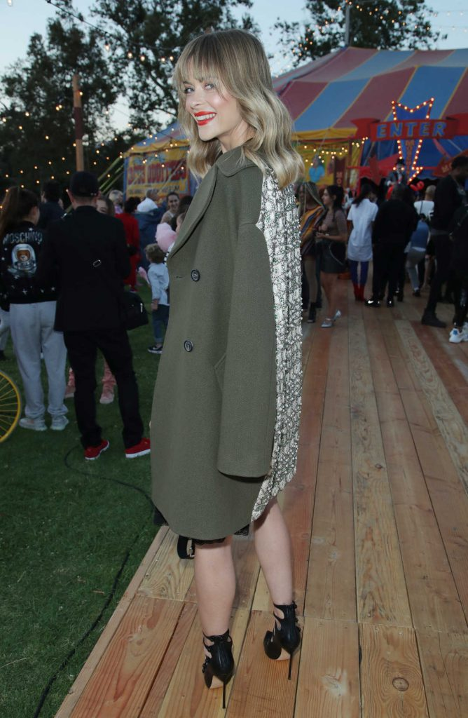 Jaime King at the Moschino Resort Collection Show at Los Angeles Equestrian Center in Burbank 06/08/2018-4