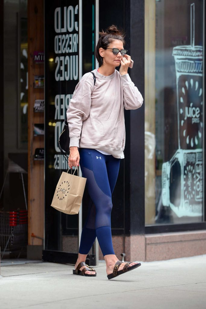 Katie Holmes Was Seen Out in New York City 06/22/2018-5