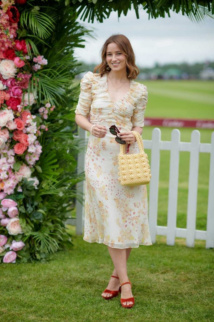 Kelly Eastwood at the Cartier Queens Cup Polo in Windsor 06/17/2018-1