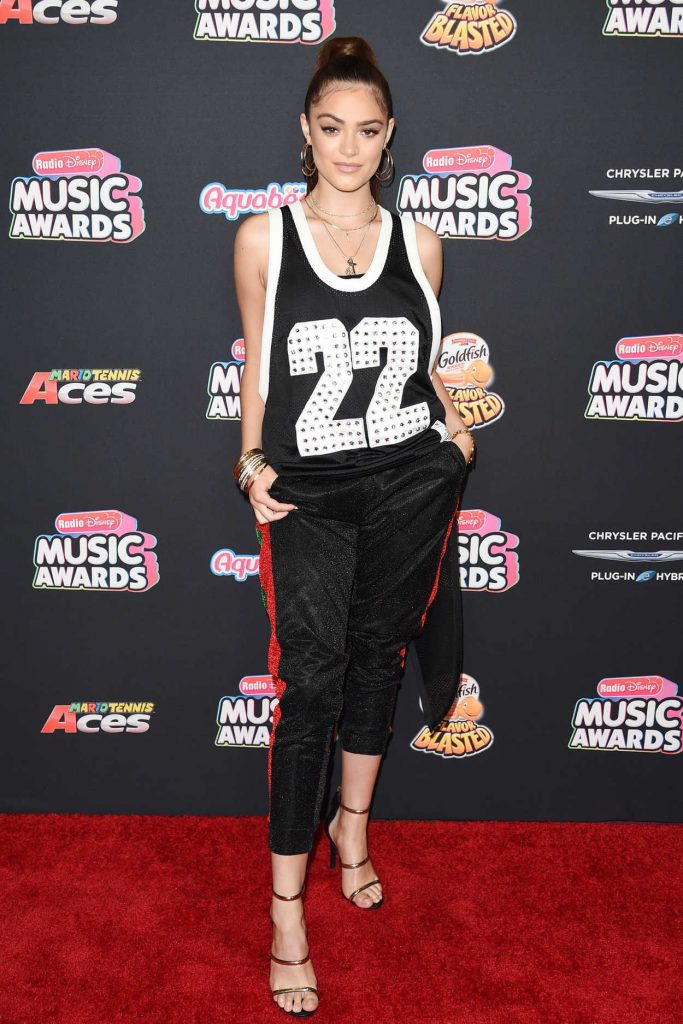 Luna Blaise at 2018 Radio Disney Music Awards in Los Angeles 06/22/2018-4