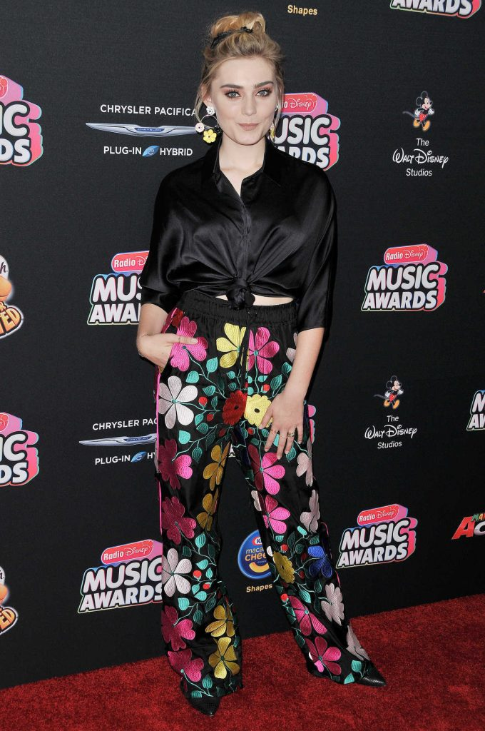 Meg Donnelly at 2018 Radio Disney Music Awards in Los Angeles 06/22/2018-1
