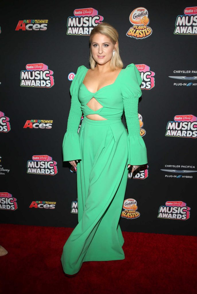 Meghan Trainor at 2018 Radio Disney Music Awards in Los Angeles 06/22/2018-3