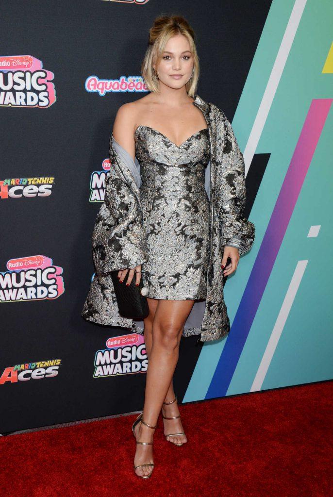 Olivia Holt at 2018 Radio Disney Music Awards in Los Angeles 06/22/2018-1