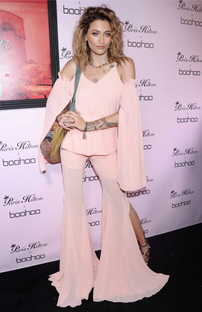 Paris Jackson at the Paris Hilton x Boohoo Official Launch Party in West Hollywood 06/20/2018-1