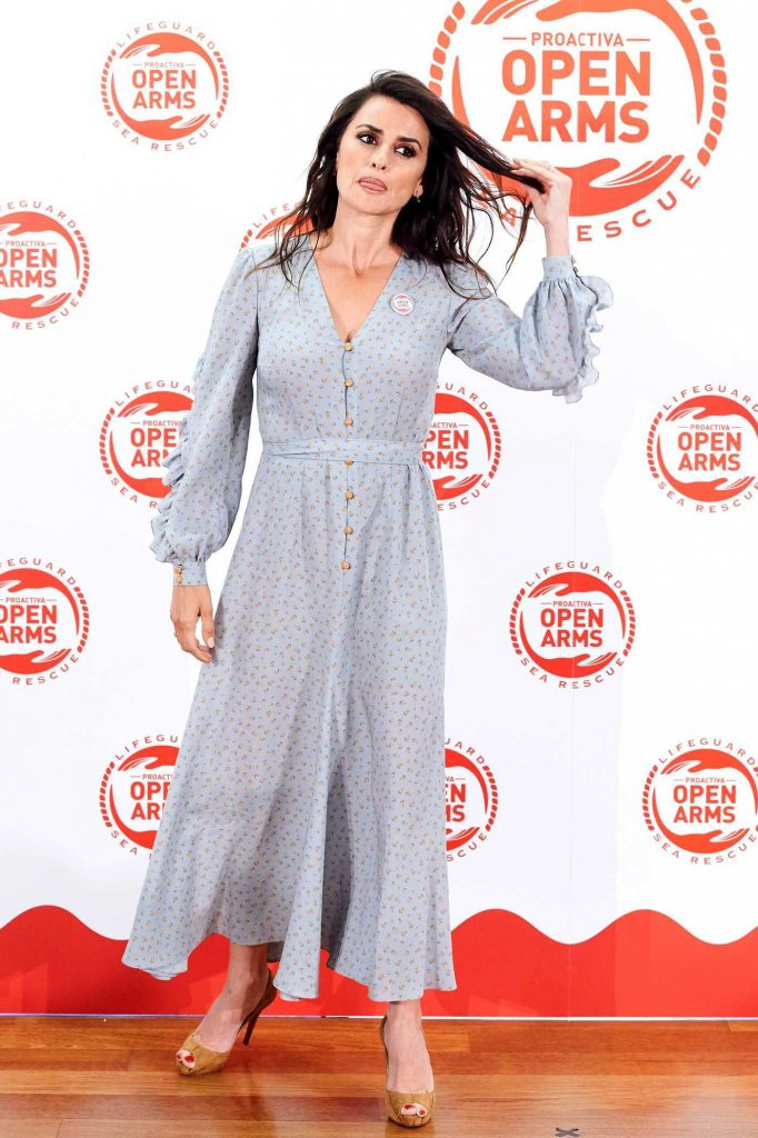 Penelope Cruz at the Proactiva Open Arms Charity Dinner in Madrid 05/31/2018-2