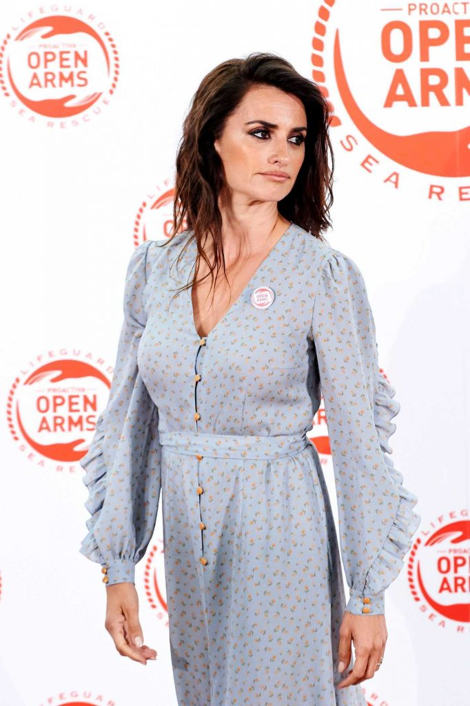 Penelope Cruz at the Proactiva Open Arms Charity Dinner in Madrid 05/31/2018-5