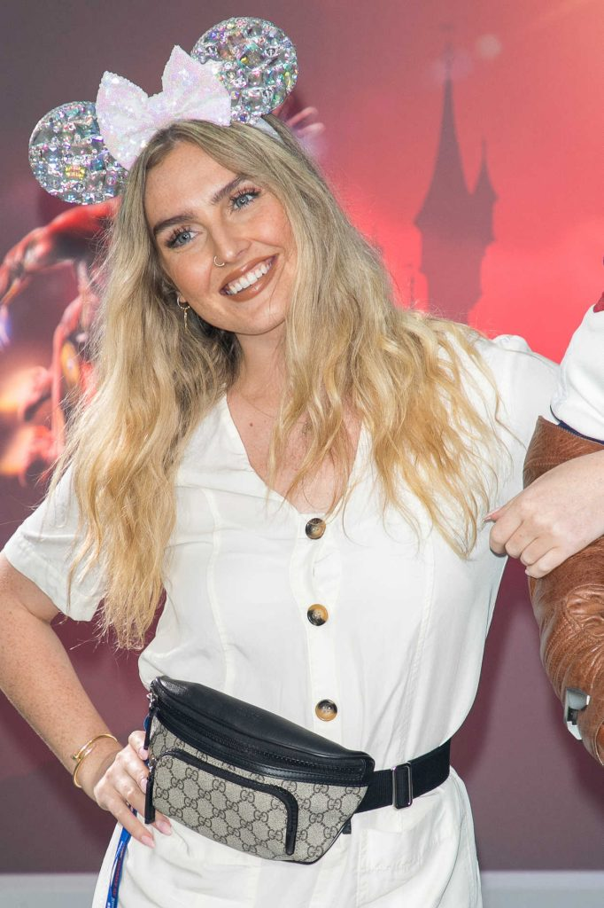 Perrie Edwards at the Marvel Summer of Super Heroes Opening Ceremony at Disneyland in Paris 06/09/2018-1