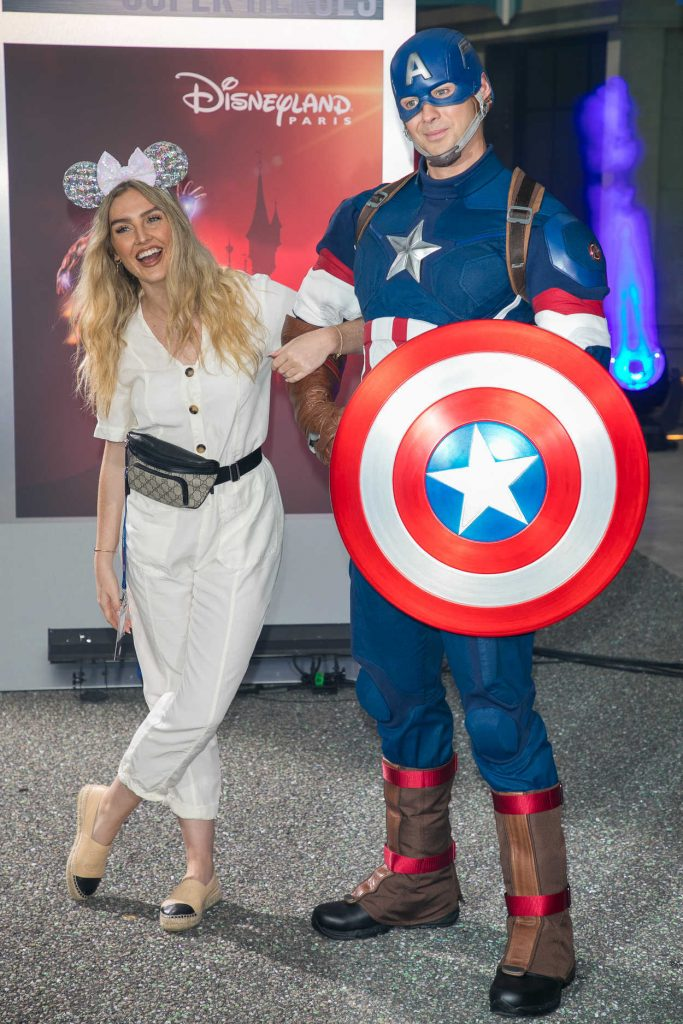 Perrie Edwards at the Marvel Summer of Super Heroes Opening Ceremony at Disneyland in Paris 06/09/2018-2