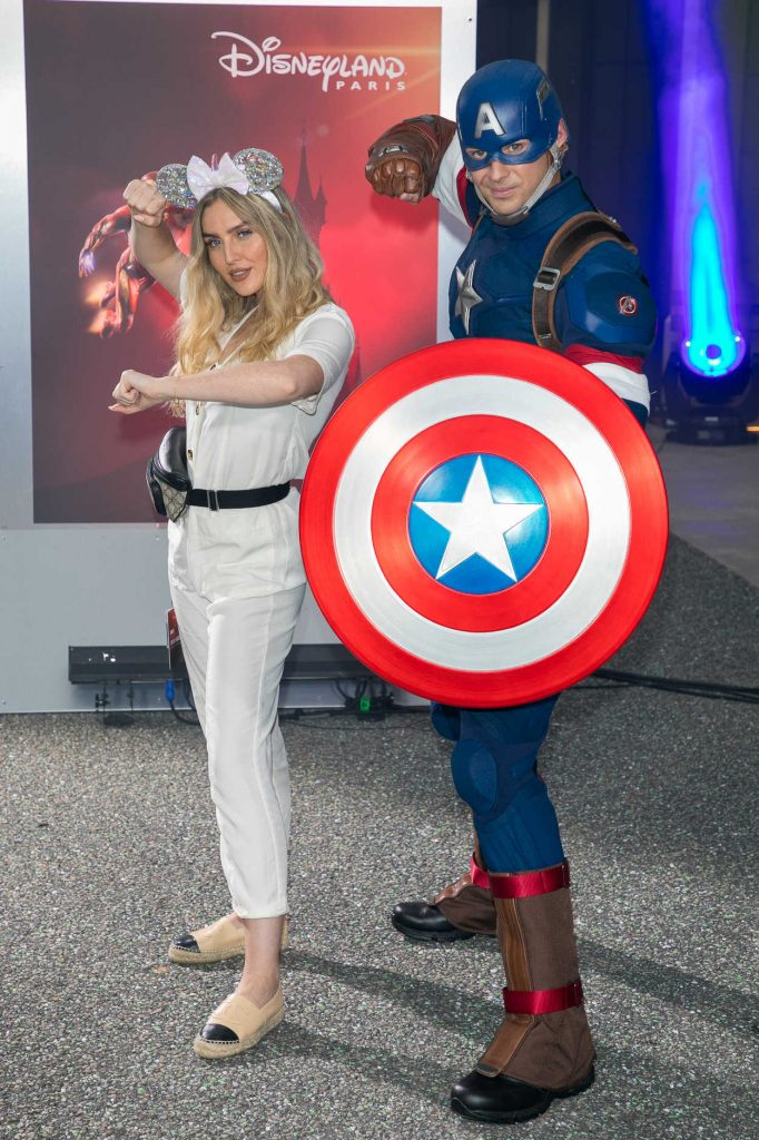 Perrie Edwards at the Marvel Summer of Super Heroes Opening Ceremony at Disneyland in Paris 06/09/2018-4