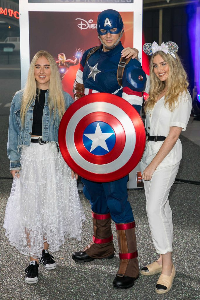 Perrie Edwards at the Marvel Summer of Super Heroes Opening Ceremony at Disneyland in Paris 06/09/2018-5