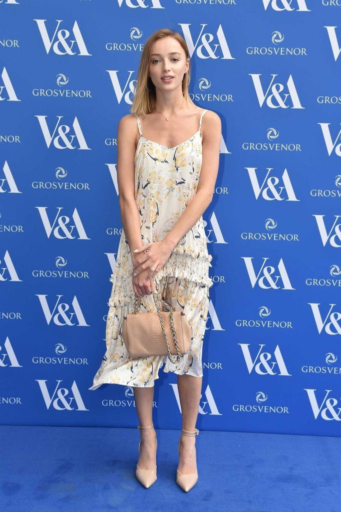 Phoebe Dynevor at The Victoria and Albert Museum Summer Party in London 06/13/2018-1
