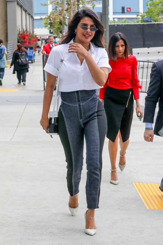 Priyanka Chopra Leaves the Microsoft Theater in Downtown Los Angeles 05/31/2018-2