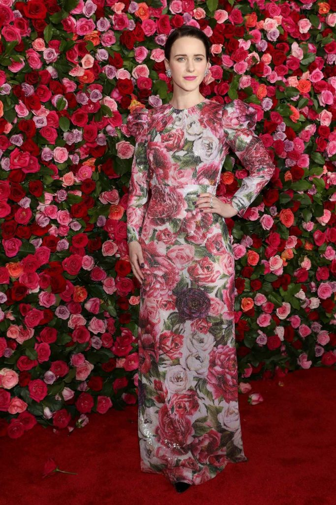 Rachel Brosnahan at the 72nd Annual Tony Awards in New York City 06/10/2018-1