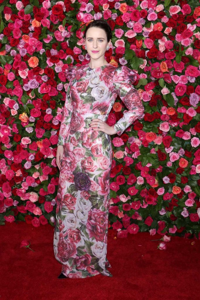 Rachel Brosnahan at the 72nd Annual Tony Awards in New York City 06/10/2018-2