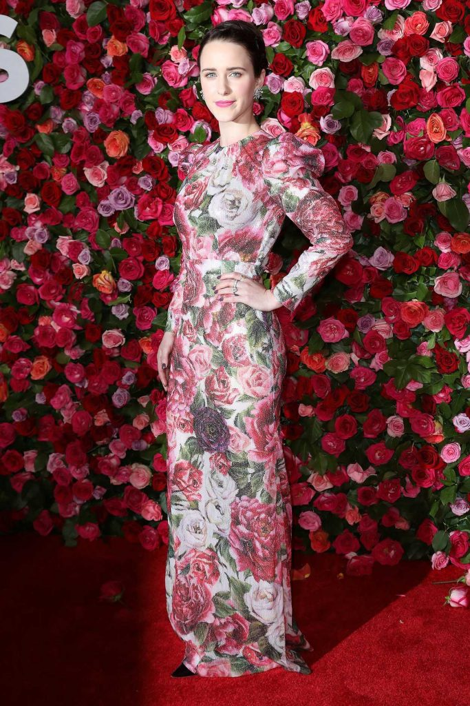 Rachel Brosnahan at the 72nd Annual Tony Awards in New York City 06/10/2018-3