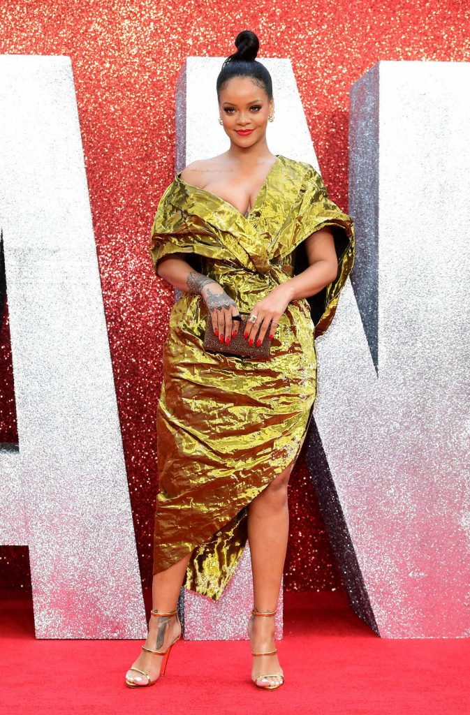 Rihanna at Ocean's 8 Premiere in London 06/13/2018-3